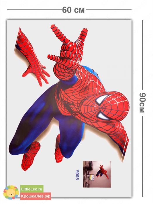 Человек паук наклейка