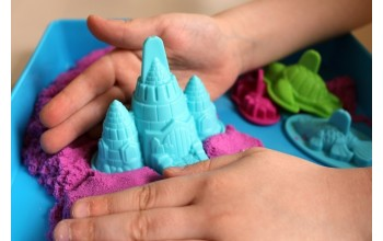 Кинетический песок: отличный досуг для детей